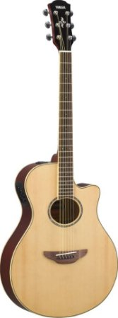 Violão Eletroacústico Yamaha APX600 Flat Natural Verniz