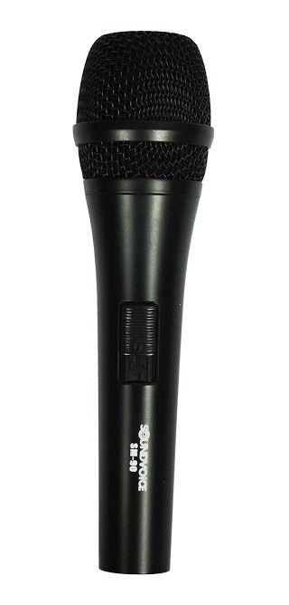 Microfone Soundvoice SM-90 Com Fio