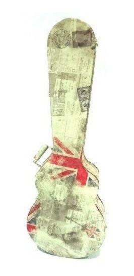 Case Contrabaixo KGB Male Estampada UK