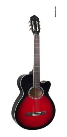 Violão Eletroacústico Giannini GNF-1D Nylon Brown Red Burst