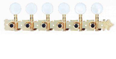 Tarraxa Violão Deval 12 Cordas Super Luxo Dourada 609