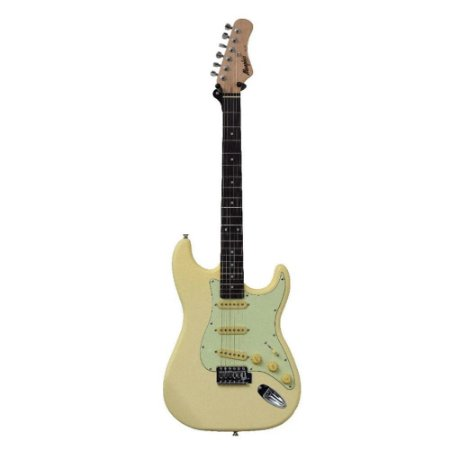 Guitarra Memphis Strato MG-30 Olympic White Fosco