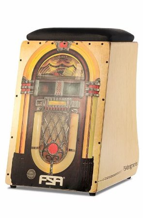 Cajon Eletroacústico FSA Design Jukebox FC-6653