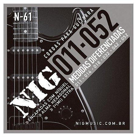 Encordoamento Guitarra NIG N-61 011-052