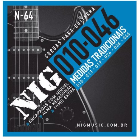 Encordoamento Guitarra NIG N-64 010-046