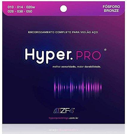 Encordoamento Violão Hyper.Pro Fósforo Bronze 010