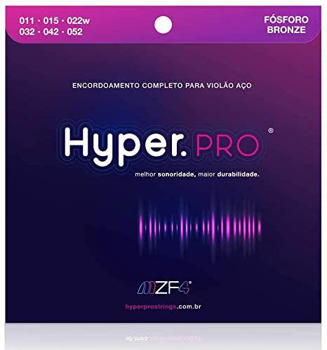 Encordoamento Violão Hyper.Pro Fósforo Bronze 011