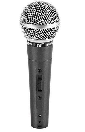 Microfone TSI 58-SW Com fio