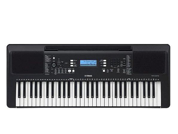 Teclado Yamaha PSR-E373 - 61 teclas sensitivas e fonte bivolt