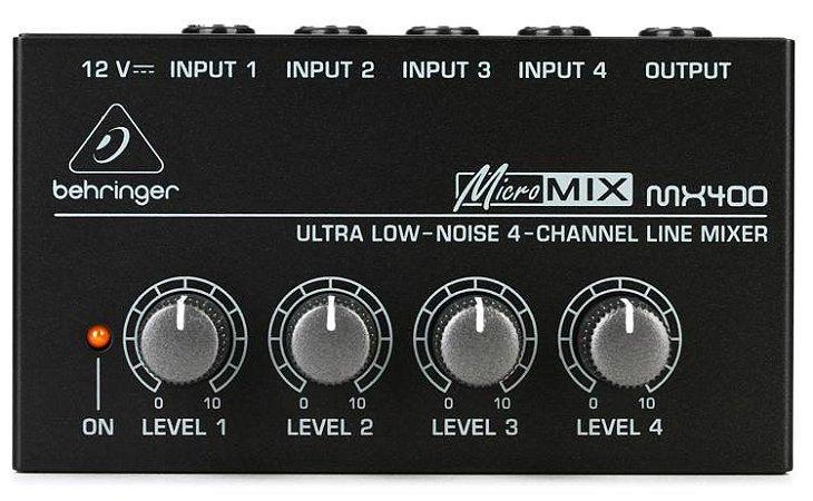 Mixer Behringer Micromix MX-400