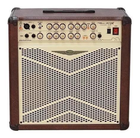 Amplificador Violão Oneal OCV-312X 80W Bivolt Manual Marrom