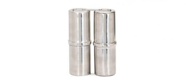 Ganzá Phoenix Duplo 15cm Alumínio Mini