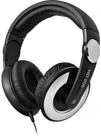 Fone de Ouvido Over-Ear Sennheiser HD 205 II