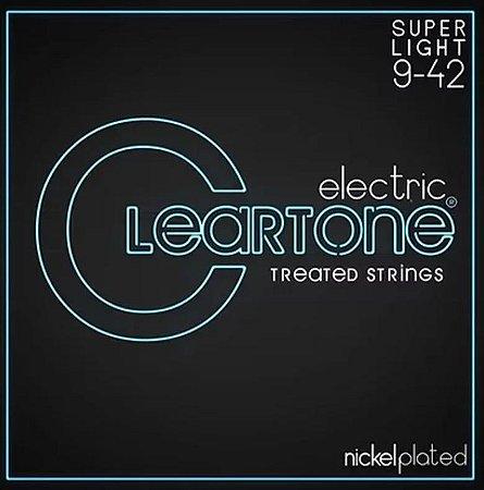 Encordoamento Guitarra Cleartone Super Leve 09-42