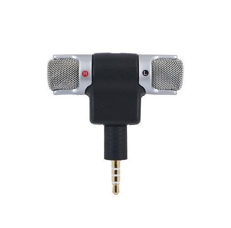 Microfone Soundvoice Lite Soundcasting 100 Estereo Para Celular