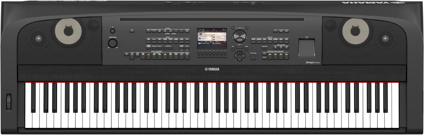Piano Digital Yamaha DGX-670 - 88 teclas e Com Estante