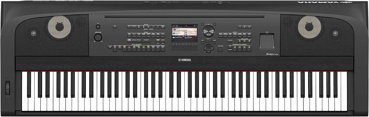Piano Digital Yamaha DGX-670 BK 88 teclas