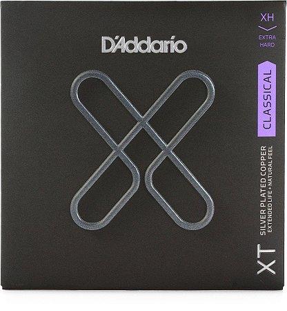 Encordoamento Violão D'Addario XTC44  Nylon Tensão Extra Pesada