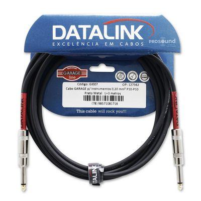 Cabo Datalink Garage Instrumento 0,20mm²  P10-P10 3m