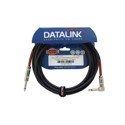Cabo Datalink Garage Instrumento 0,20mm² P10-P10 (90°) 3m