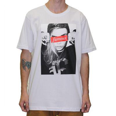 Camiseta Black F -  Famous