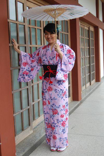 Kimono Rosa Importado Japão