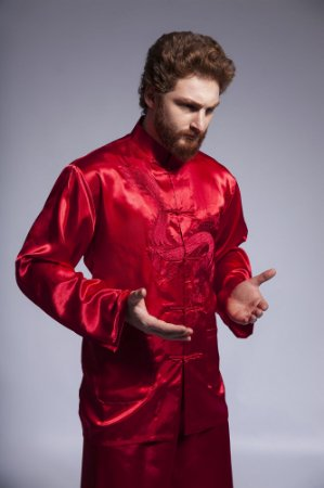 Blusa Kung Fu Importada