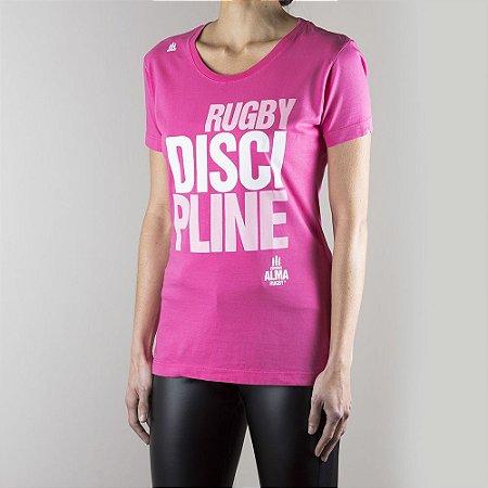 T-SHIRT Rugby DISCIPLINE Feminina