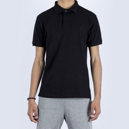 Polo Rugby Black Cocar