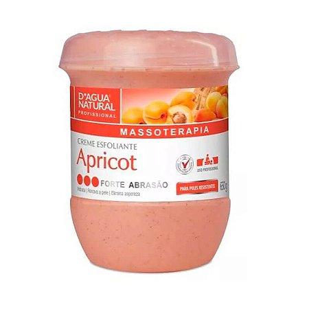 Esfoliante Corporal D'agua Natural Apricot Forte Abrasão - 650g
