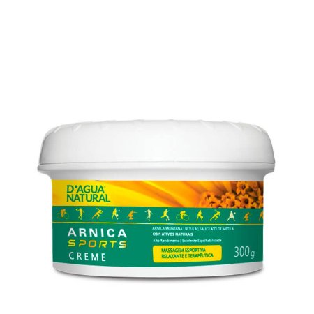 Creme Corporal Arnica Sports D'Água Natural - 300g