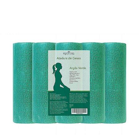 Atadura Gessada Para Redução de Medidas Argila Verde - 15cm