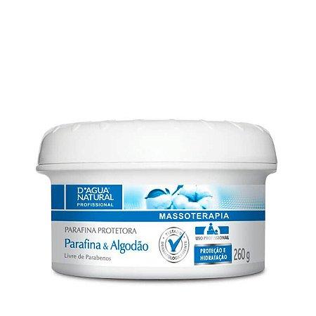 Parafina Protetora Algodão D'Água Natural - 260g