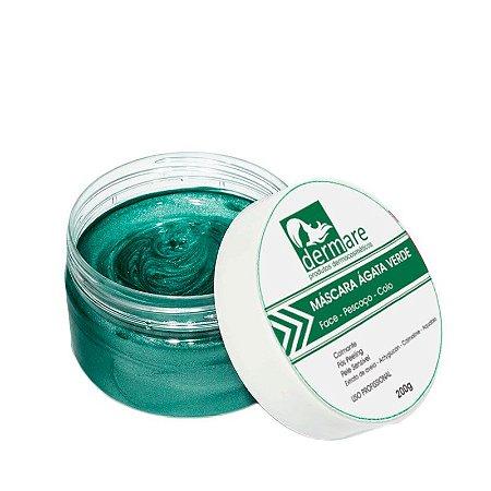 Mascara Facial Dermare Ágata Verde - 200g