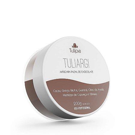 Máscara Tuliargi de Chocolate Facial e Corporal Tulípia - 200g