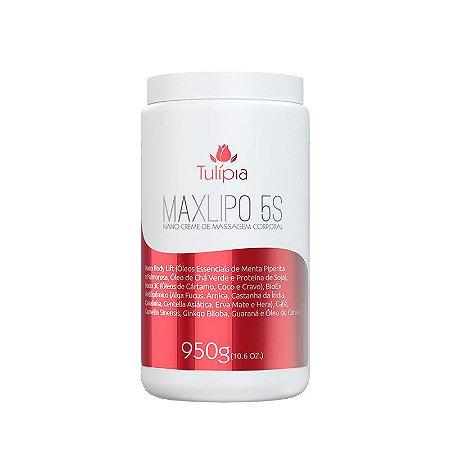 Creme de Massagem Redutor Nano Maxlipo 5S 950g - Tulípia