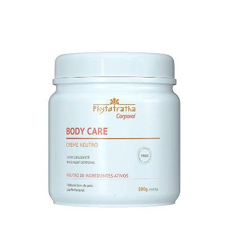 Creme Massagem Corporal Neutro Body Care 500g - Phytotratha