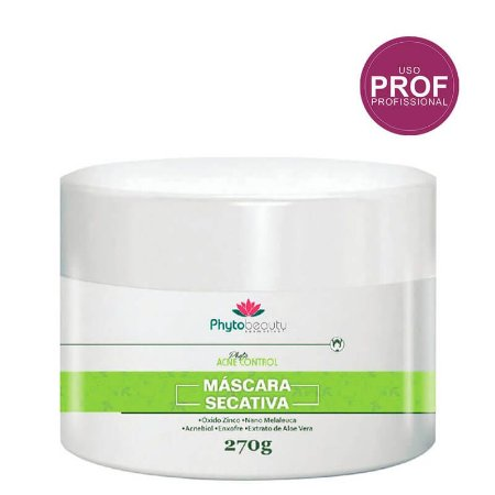 phytobeauty acne control Máscara secativa 270g