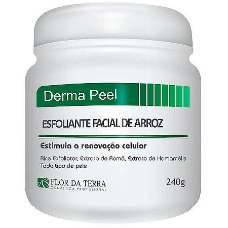 Derma Peeling Flor Da Terra Esfoliante De Arroz 240g