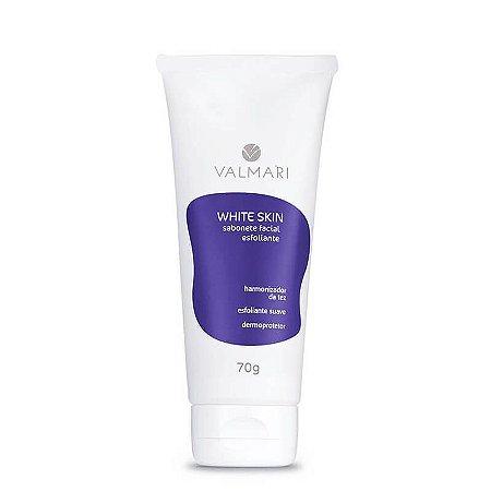 Sabonete Valmari Esfoliante Facial E Clareador 70g White Skin