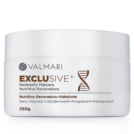 Máscara Valmari Ouro Nutritiva Renovadora Exclusive Redensify 250g