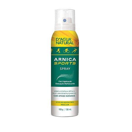 Spray Muscular Arnica Sports D'agua Natural 150ml