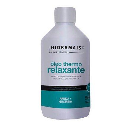 Óleo Para Massagem Com Arnica Thermo Relaxante Hidramais 500ml