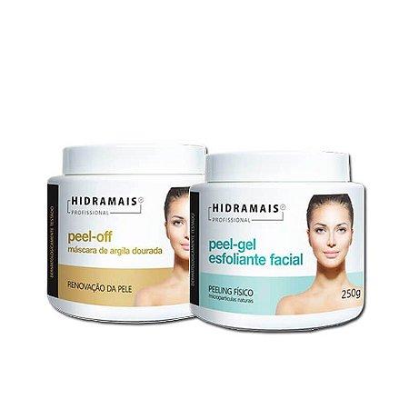 Kit De Tratamento Para Esfoliação Facial E Peel-off Hidramais