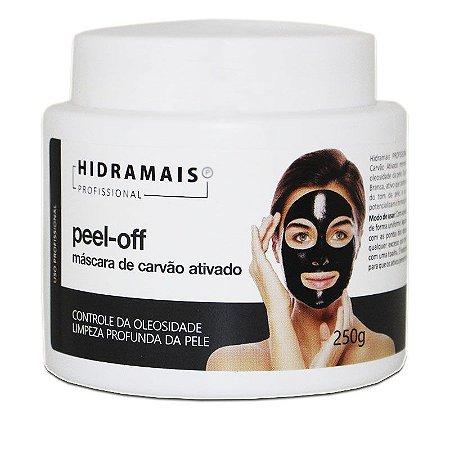Mascara Facial Peel-off Hidramais Com Carvão Ativado 250g