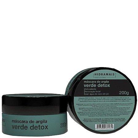 Mascara Hidramais de Argila Verde Detox Com Chá Verde e Água De Côco 200g