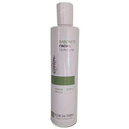 Sabonete Liquido Facial Hidratante Hortelã E Alecrim 300ml Flor Da Terra