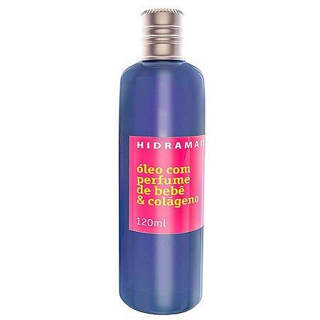 Óleo Hidramais Com Perfume De Bebê E Colágeno 120ml