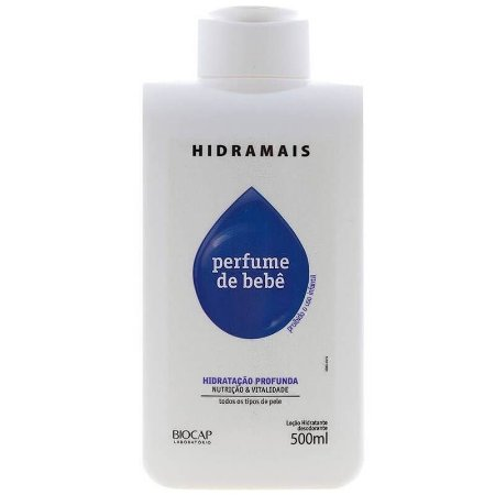 Loção Corporal Perfume De Bebê Hidramais 500ml