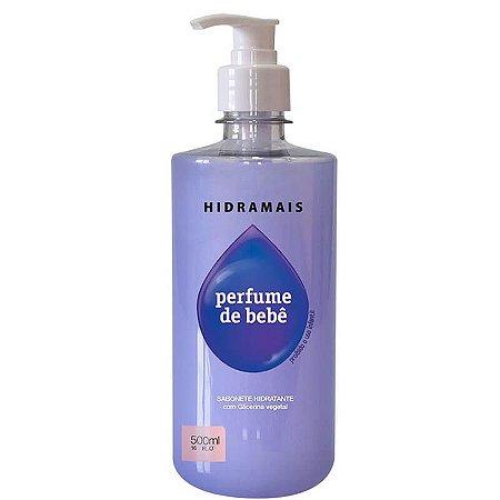 Sabonete Líquido Hidramais Com Perfume De Bebê 500ml